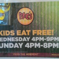 Photo taken at Moe's Southwest Grill by Jackson P. on 3/7/2012