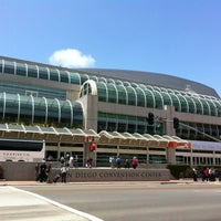 Photo taken at San Diego Convention Center by Ashley B. on 6/14/2012