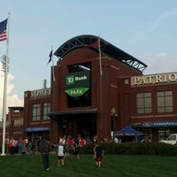 Photo taken at Somerset Patriots Baseball @ TD Bank Ballpark by Chris J. on 9/7/2012