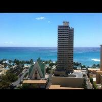 Photo taken at Hilton Waikiki Beach by Mark H. on 9/12/2012