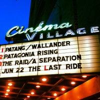 Photo taken at Cinema Village by Tarah F. on 6/17/2012