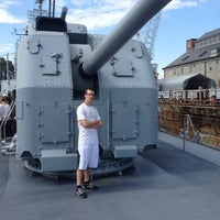 Photo taken at USS Cassin Young by Carlos G. on 9/2/2012