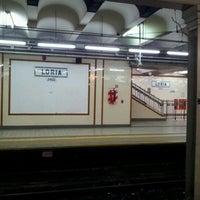 Photo taken at Estación Loria [Línea A] by Damian D. on 2/14/2012