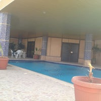 Photo taken at Al-Mutlaq Hotel by Andrea B. on 7/12/2012