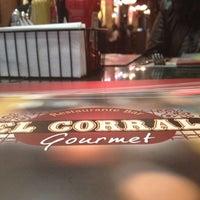 Photo taken at El Corral Gourmet by Juan B. on 4/19/2012