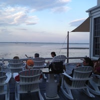 Photo taken at The Red Inn & Restaurant by Lauren S. on 7/19/2012