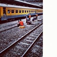 Photo taken at Stasiun Tanah Abang by Untung B. on 2/20/2012