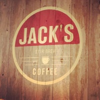 Photo taken at Jack's Stir Brew Coffee by Burk J. on 6/15/2012