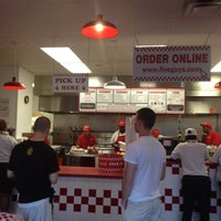 Photo taken at Five Guys by Desmond W. on 6/20/2012