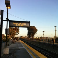 Photo taken at Hillsdale Caltrain Station by Jesse P. on 3/6/2012