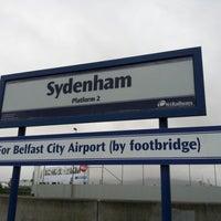 Photo taken at Sydenham Station by Jonathan C. on 4/7/2012