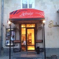 Photo taken at Artbridge Bookstore Café by Hayk M. on 4/1/2012