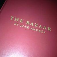 Das Foto wurde bei The Bazaar by Jose Andres von MAR am 6/28/2012 aufgenommen