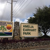 Photo taken at Amelia Earhart Park by Caitlin on 7/7/2012