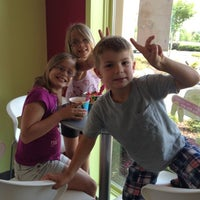 Photo taken at Menchie's Frozen Yogurt - Sweet Apple Village by Kaitlin W. on 5/2/2012