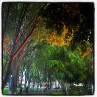 Photo taken at Parque Jardines De La Hacienda by Francisco B. on 8/24/2012