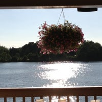 Photo taken at Johnny's On The Lake by Mary Beth G. on 6/26/2012