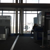 Photo taken at Concourse D by Thomas C. on 4/2/2012
