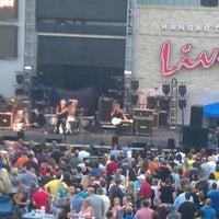 Photo taken at Kansas City Live! by Jane K. on 7/14/2012