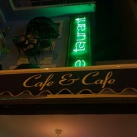 Photo taken at Cafe Cafe by gzdge on 4/1/2012
