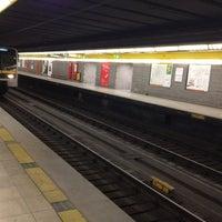 Photo taken at Metro Sondrio (M3) by Edoardo Giovanni R. on 4/19/2012