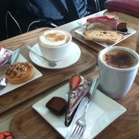 Photo taken at Coffee&Cheesecake by Rebecca H. on 4/3/2012