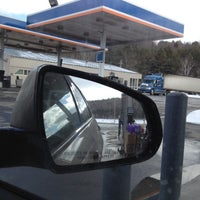 Photo taken at Gulf / Evan's Expressmart by Marjorie W. on 3/10/2012