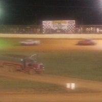 ... Photo taken at 411 Motor Speedway by Jimmy H. on 6/20/2012 ...