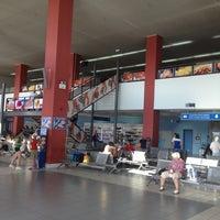 Photo taken at Zakynthos International Airport Dionysios Solomos (ZTH) by Vadim Z. on 8/31/2012