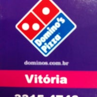 Photo taken at Domino's Pizza by Camila A. on 4/26/2012