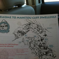 Photo taken at Manitou Cliff Dwellings by Brooke B. on 8/27/2012
