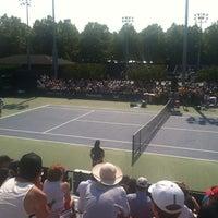 Photo taken at Court 7 - USTA Billie Jean King National Tennis Center by Adam R. on 8/30/2012