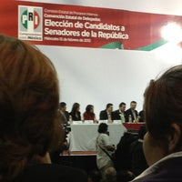 Photo taken at Comité Directivo Estatal PRI by Fatima G. on 2/16/2012