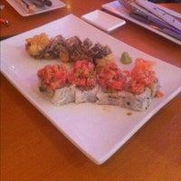 Photo taken at Ikebana Sushi Bar - Carolina by Jaime O. on 3/16/2012