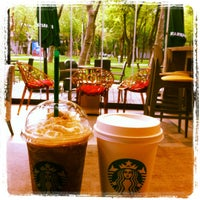 Photo taken at Starbucks by Zeynep B. on 4/27/2012