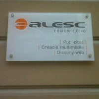 Photo taken at Alesc Comunicació by Lidia on 3/29/2012