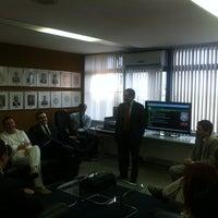 Photo taken at Gabinete SSP by Cláudio T. on 4/17/2012