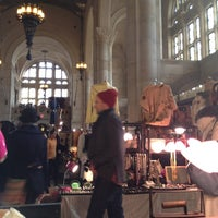Photo taken at Brooklyn Flea - One Hanson by Silli S. on 2/19/2012