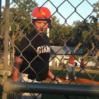 Photo taken at Fish hawk youth baseball by PamMktgNut M. on 5/10/2012