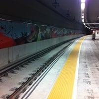 Photo taken at Estación de Goya by Paco d. on 4/4/2012