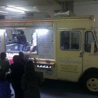 Photo taken at Van Leeuwen Ice Cream Truck by Lynne d J. on 2/3/2012