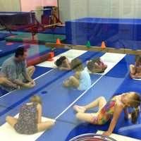 Photo taken at Jean's Gymnastics by Timothy D. on 9/4/2012