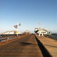 Photo taken at Stearns Wharf by Paul G. on 8/20/2012