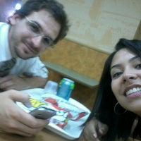 Photo taken at Subway by Bruna A. on 7/4/2012