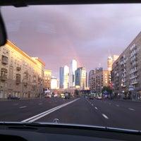 Photo taken at Большая Дорогомиловская улица by Masha C. on 7/29/2012