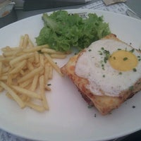 Photo taken at Café Noir by Dipika on 5/6/2012