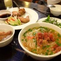 Photo taken at Quan An Ngon 18 Phan Boi Chau by Shota K. on 9/5/2012