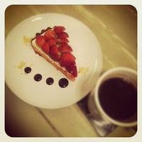Photo taken at CAFFE CAFFE by Jieun J. on 2/15/2012