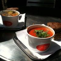 Photo taken at Soup en Zo by Florian W. on 6/23/2012