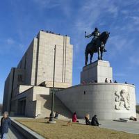 Photo taken at National Memorial on the Vítkov Hill by Zdeněk C. on 3/8/2012
